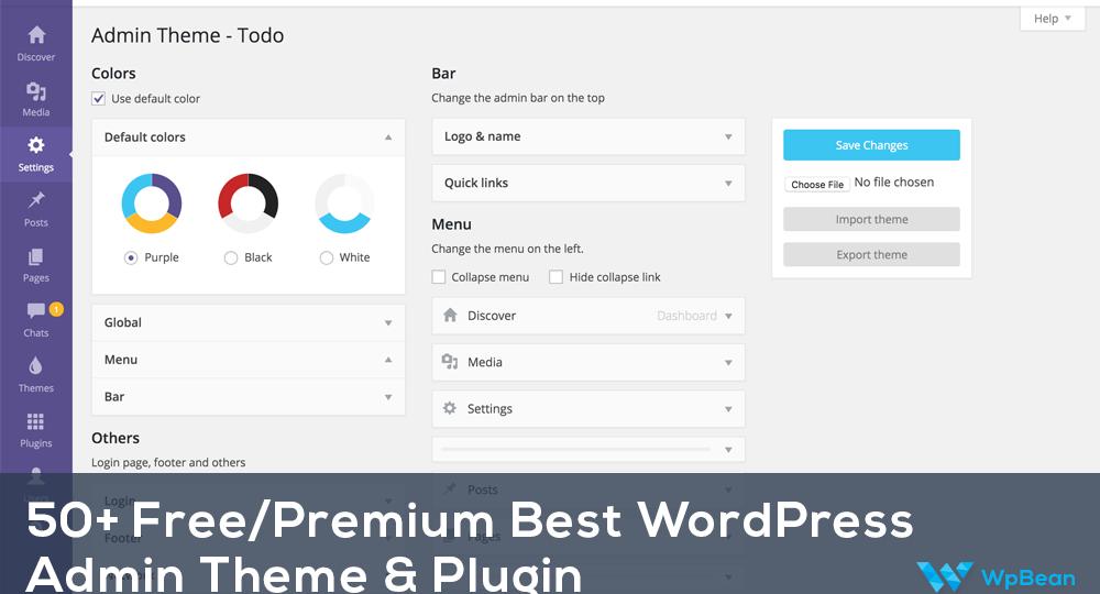 Best WordPress Admin Theme