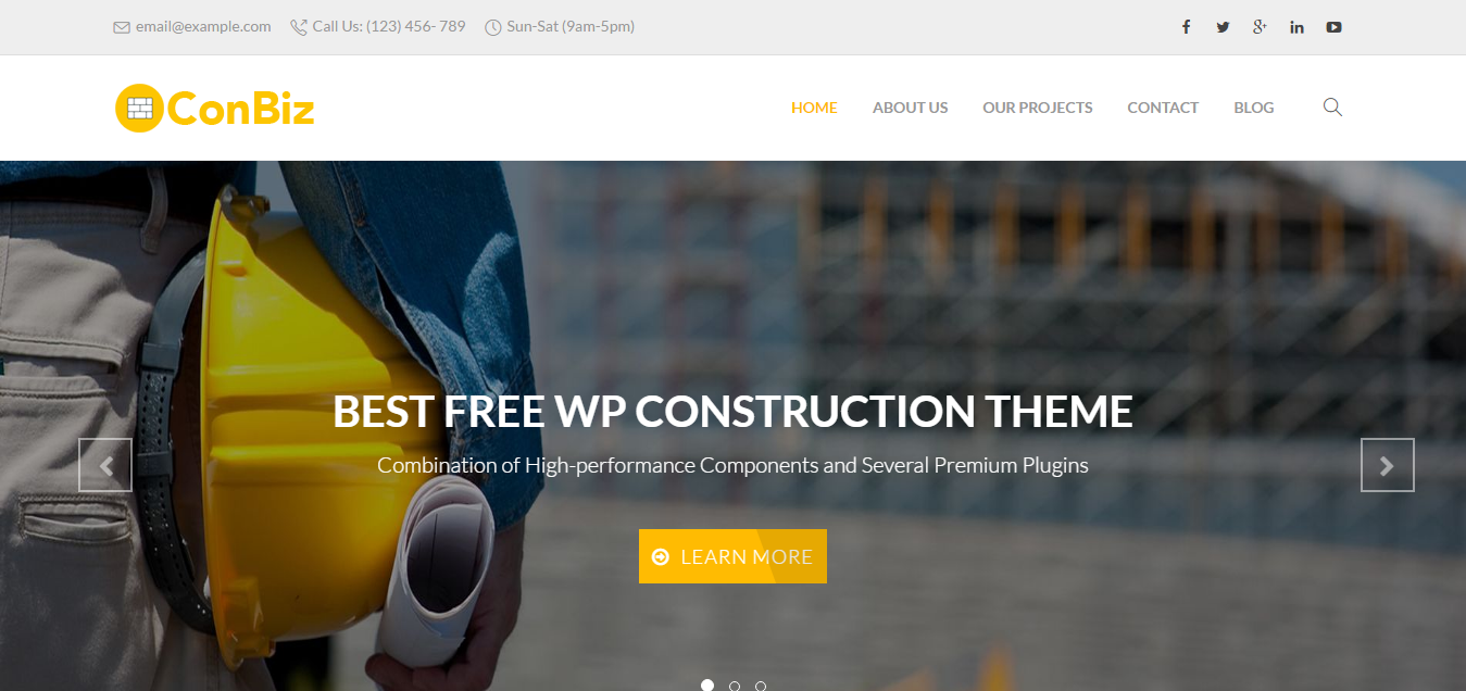 Best Free WordPress Themes 2016 for all kind of business | WpBean