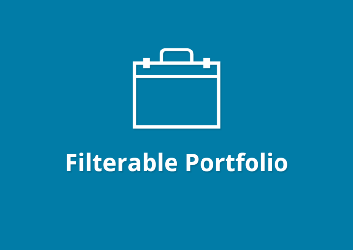 WPB Filterable Portfolio