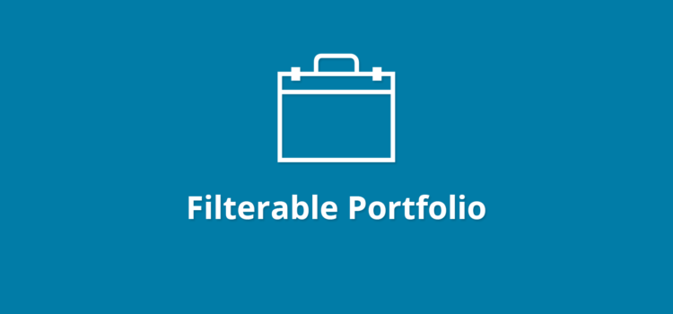 WPB Filterable Portfolio