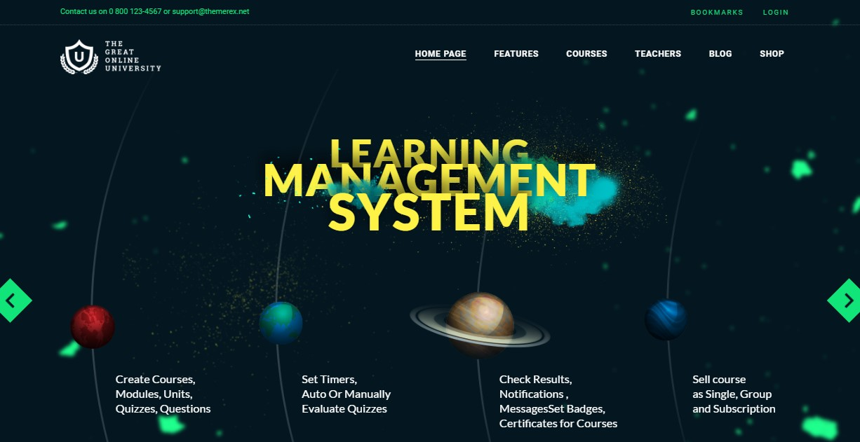 13. Online University - Education LMS Theme