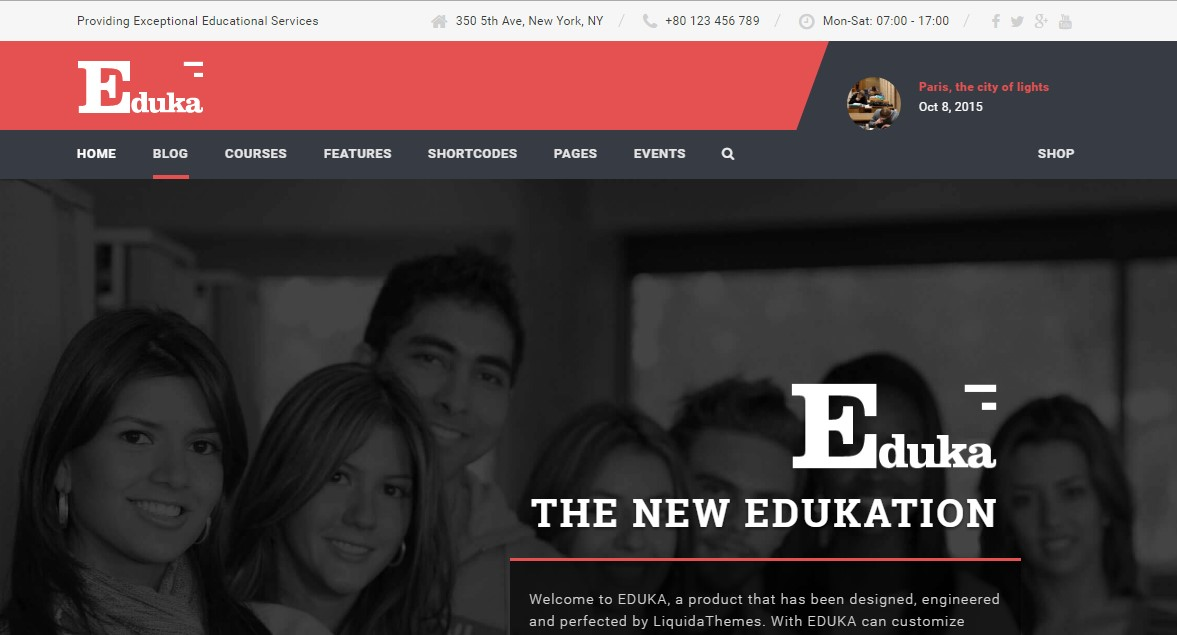 15, Eduka - Education & University WordPress Theme