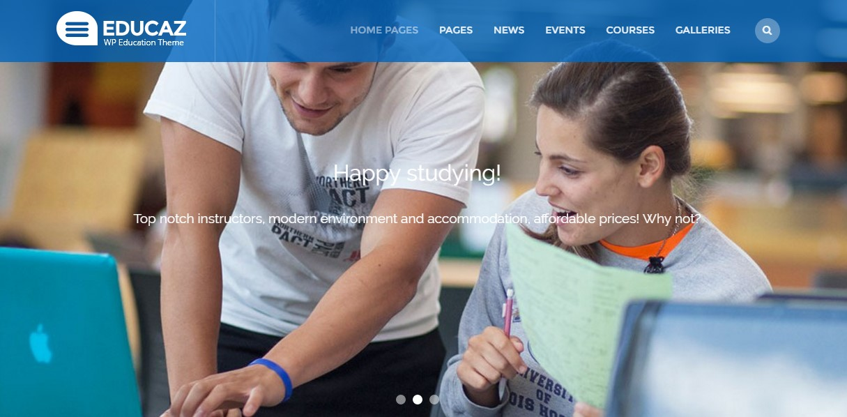 Educaz - WP academic - education theme