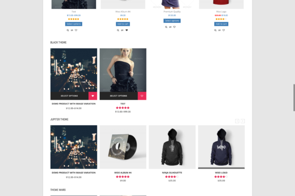 WooCommerce Products Slider Themes