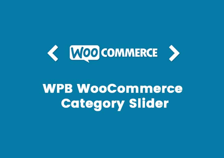 WPB WooCommerce Category Slider