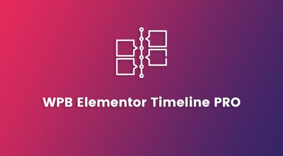 WPB Elementor Timeline PRO